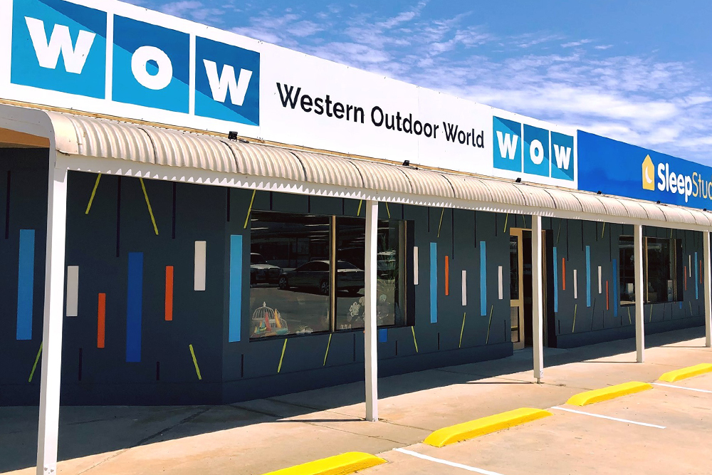 New Cladding installed by UI Building & Improvements at commercial premises in Geraldton