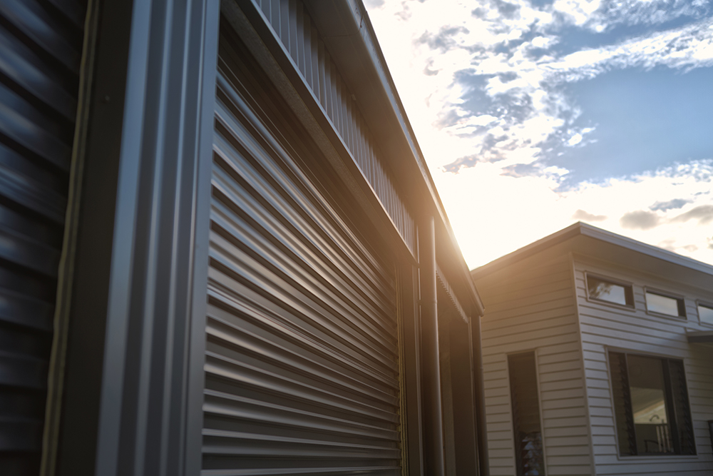 Garage and steel building installed by UI Building in Geraldton