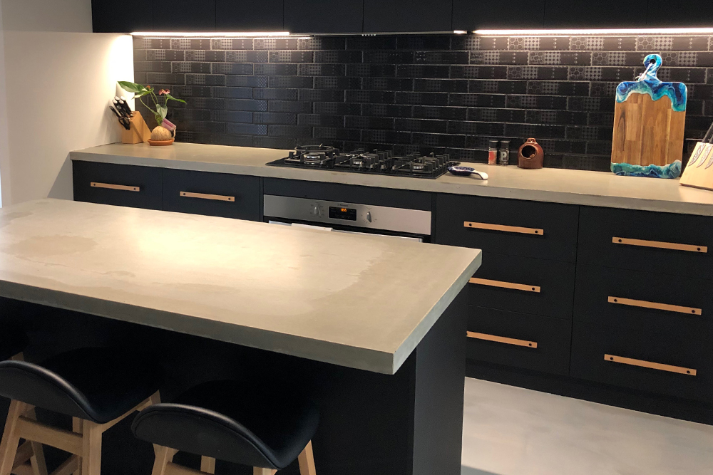 Kitchen Cabinets built and installed by UI Building & Improvements Geraldton